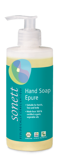 Sonett Tekuté mýdlo - épure BIO (300 ml) - s kořenitou esencí 7 bylin