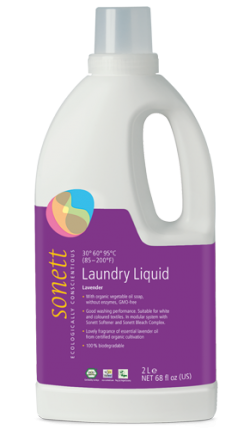 Sonett Univerzální tekutý prací gel na bílé i barevné prádlo BIO (2 l) - AKCE