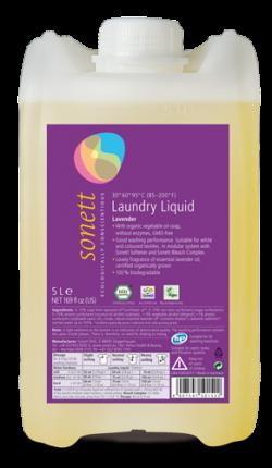 Sonett Univerzální tekutý prací gel na bílé i barevné prádlo BIO (5 l) - AKCE