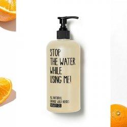 Stop the Water Sprchový gel pomeranč - divoké bylinky BIO (200 ml)