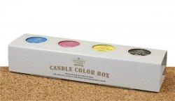 The Greatest Candle Sada barev na svíčky (4x 5 g) - pro výrobu až 200 barevných svíček