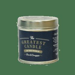 The Greatest Candle Vonná svíčka v plechovce (200 g) - hřebíček a skořice