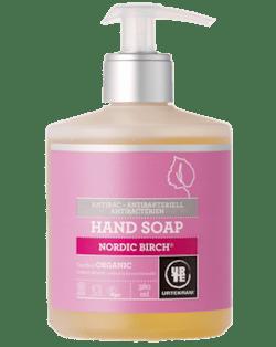 Urtekram Antibakteriální tekuté mýdlo na ruce - severská bříza BIO (380ml)