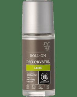 Urtekram Deodorant roll-on s limetkou BIO (50 ml) - s obsahem cenných minerálních solí