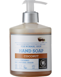 Urtekram Hydratační tekuté mýdlo s kokosovým nektarem BIO (380 ml)