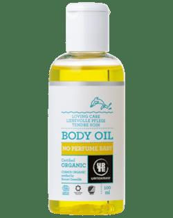 Urtekram Něžný tělový olej pro miminka BIO (100 ml) - pez parfemace pro maximální jemnost