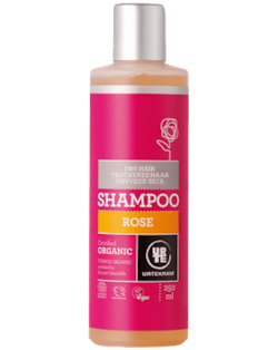 Urtekram Růžový šampon pro suché vlasy BIO (250 ml) - krásně hydratuje