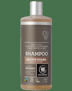 Urtekram Šampon s hnědým cukrem (500 ml) - bio, pro suchou pokožku hlavy
