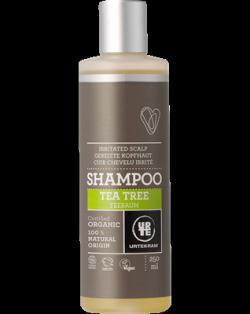 Urtekram Šampon s tea tree pro podrážděnou vlas. pokožku BIO (250 ml)