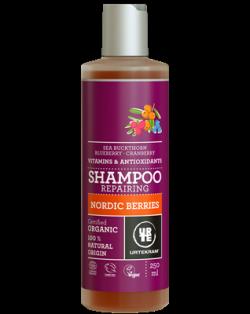 Urtekram Šampon se severskými bobulemi na poškozené vl. BIO (250 ml)