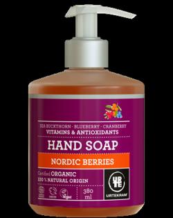 Urtekram Tekuté mýdlo na ruce se severskými bobulemi BIO (380 ml)