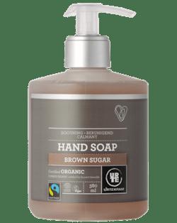 Urtekram Zklidňující tekuté mýdlo na ruce s hnědým cukrem BIO (380 ml)
