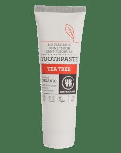 Urtekram Zubní pasta s tea tree BIO (75 ml) - bez fluoru