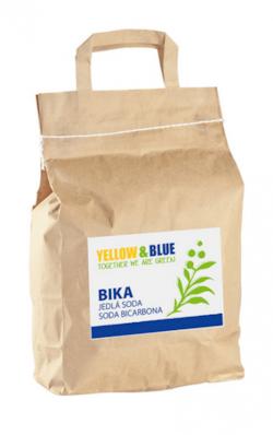 Yellow&Blue BIKA – Jedlá soda (Bikarbona) (pytel 5 kg)