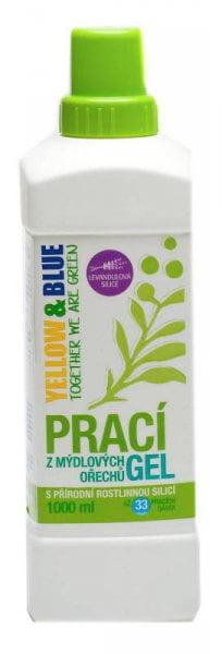 Yellow&Blue Prací gel s levandulí (1 l) - z bio mýdlových ořechů