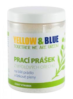 Yellow&Blue Prací prášek na bílé prádlo a látkové pleny (dóza 850 g)