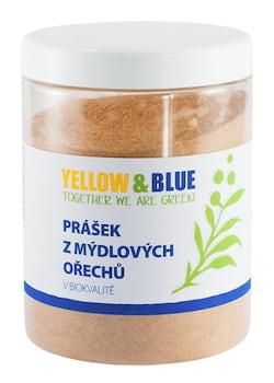 Yellow&Blue Prášek z mýdlových ořechů BIO (dóza 500 g)