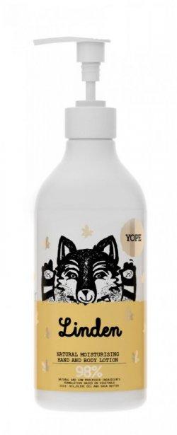 Yope Hydratační tělové mléko - květ lípy (500 ml) - z 98 % z přírodních surovin