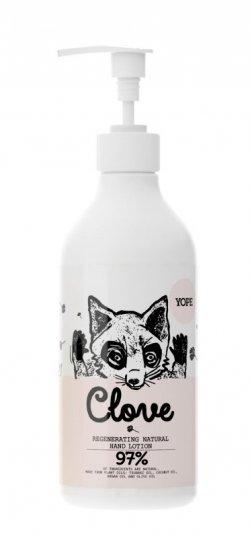 Yope Přírodní mléko na ruce - hřebíček (500 ml) - z 97 % z přírodních surovin
