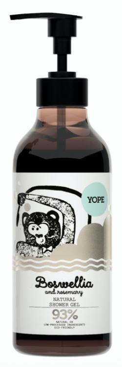 Yope Sprchový gel - kadidlovník a rozmarýn (400 ml) - AKCE