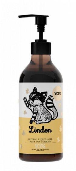 Yope Tekuté koupelnové mýdlo s TGA formulí - květ lípy (500 ml)