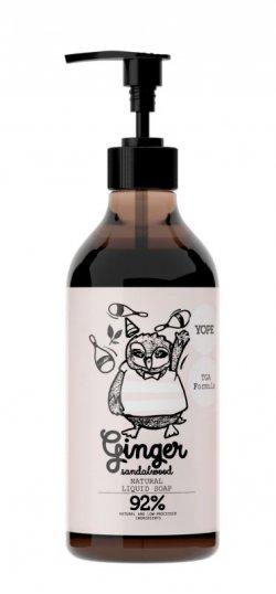 Yope Tekuté koupelnové mýdlo s TGA formulí - zázvor a santalové dřevo (500 ml)