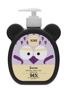 Yope Tekuté mýdlo na ruce pro děti s jasmínem (400 ml) - 94 % přírodních surovin