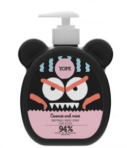 Yope Tekuté mýdlo na ruce pro děti s kokosem a mátou (400 ml) - AKCE