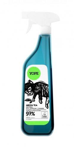 Yope Univerzální čistič ve spreji - zelený čaj (750 ml) - z 97 % z přírodních surovin