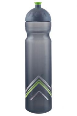 Zdravá lahev (1 l) - BIKE zelená - s vyměnitelnými díly