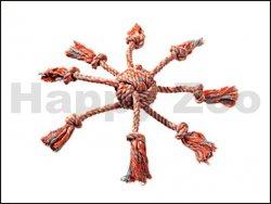 Hračka FLAMINGO bavlna - chobotnice 7x8cm