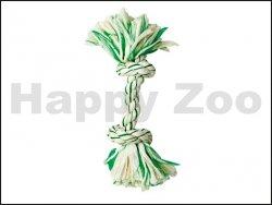 Hračka FLAMINGO bavlna - uzel s mátou 26cm (DOPRODEJ)