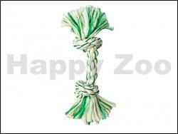 Hračka FLAMINGO bavlna - uzel s mátou 37cm (DOPRODEJ)
