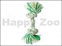 Hračka KARLIE-FLAMINGO bavlna - uzel s mátou 48cm (DOPRODEJ)