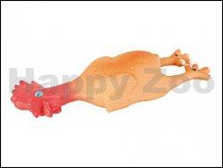 Hračka TRIXIE latex - mini kohoutek 15cm (DOPRODEJ)