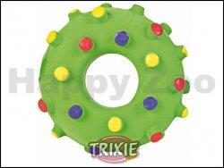 Hračka TRIXIE latex - mini kroužek se špuntíky 8cm