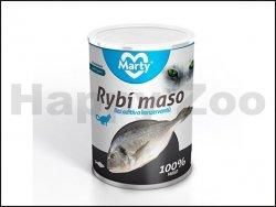 Konzerva MARTY pro kočky - ryba 400g