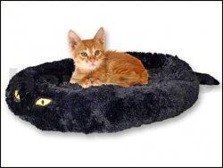 Pelech TOMMI Cat in Black 50x40x9cm