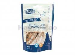 TRIXIE Be Nordic Cubes - kostičky s lososem pro kočky 50g