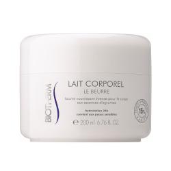 Biotherm Hydratační tělové máslo pro suchou pokožku Lait Corporel (Intensive Anti-Dryness Body Butter) 200 ml - SLEVA - prasklé víčko