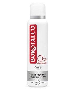 Borotalco Deodorant ve spreji 48H Pure (Spray Deodorant) 150 ml - SLEVA - prasklé víčko