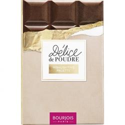 Bourjois Rozjasňující paletka Délice de Poudre (Highlighting Palette) 18 g