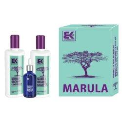 Brazil Keratin Dárková sada Marula s přírodním exotickým olejem pro krásu a svěžest vlasů i těla - SLEVA - poškozená krabička