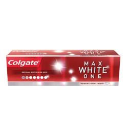 Colgate Bělicí zubní pasta proti skvrnám Max White One 75 ml - SLEVA - poškozená krabička