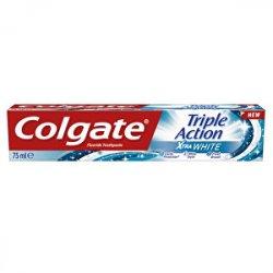 Colgate Bělicí zubní pasta Triple Action White 75 ml - SLEVA - poškozená krabička