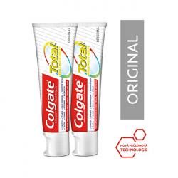 Colgate Zubní pasta Total Original Duopack 2 x 75 ml - SLEVA - poškozená krabička