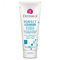Dermacol Mycí gel na obličej s mořskou řasou (Perfect Cleanser) 100 ml