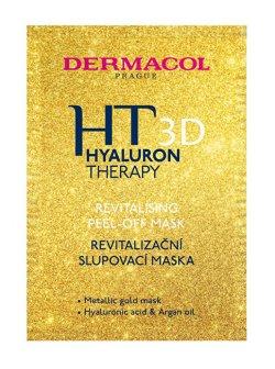 Dermacol Revitalizační slupovací maska Hyaluron Therapy 3D (Revitalising Peel-Off Mask) 15 ml