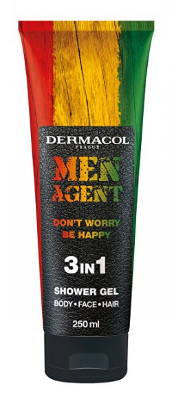 Dermacol Sprchový gel pro muže Men Agent Don´t Worry Be Happy (3 in 1 Shower Gel) 250 ml
