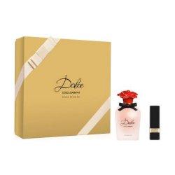 Dolce & Gabbana Dolce Rosa Excelsa EDP 50 ml + rtěnka Matte Lipstick Flirt 3,5 g pro ženy dárková sada